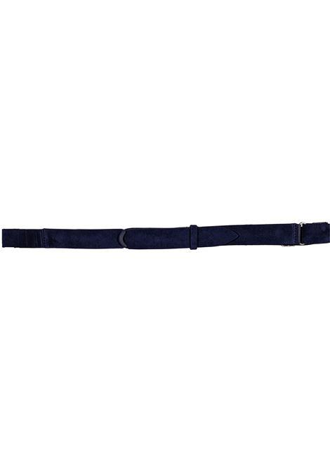 Belt Orciani NoBuckle suede blue ORCIANI | Belts | NB006006