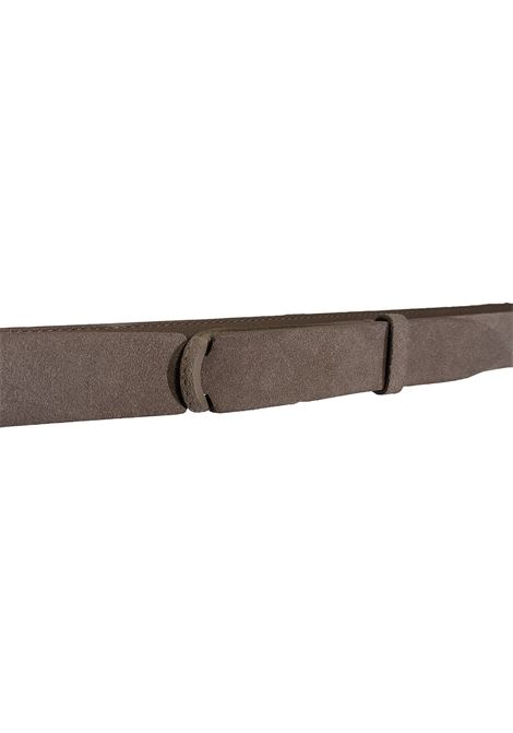 Orciani NoBuckle belt in taupe suede ORCIANI | Belts | NB00602