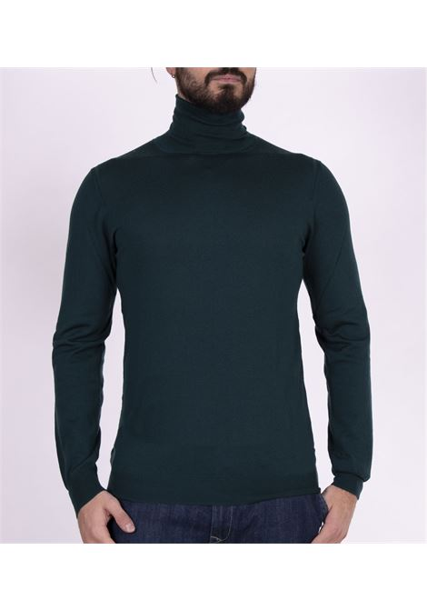 Green Paolo Pecora turtleneck sweater PAOLO PECORA | Sweaters | A003F0015558
