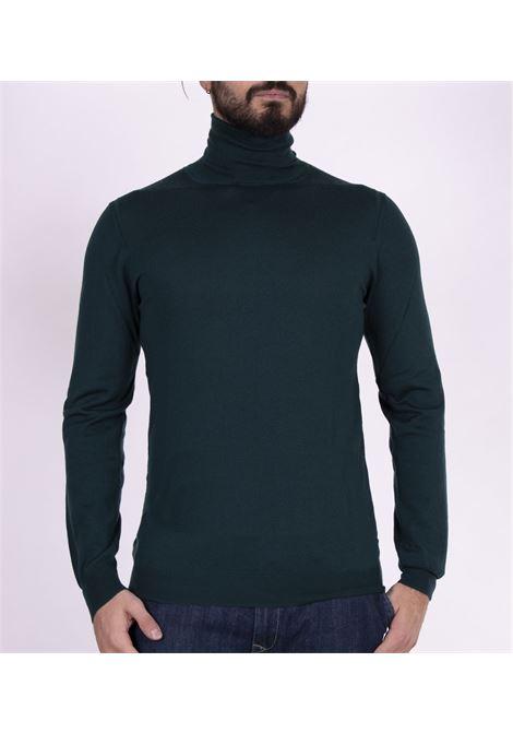 Green Paolo Pecora turtleneck sweater PAOLO PECORA | Sweaters | A003F0015558