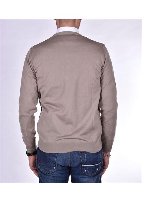 beige cardigan PAOLO PECORA | Sweaters | A004F0011193