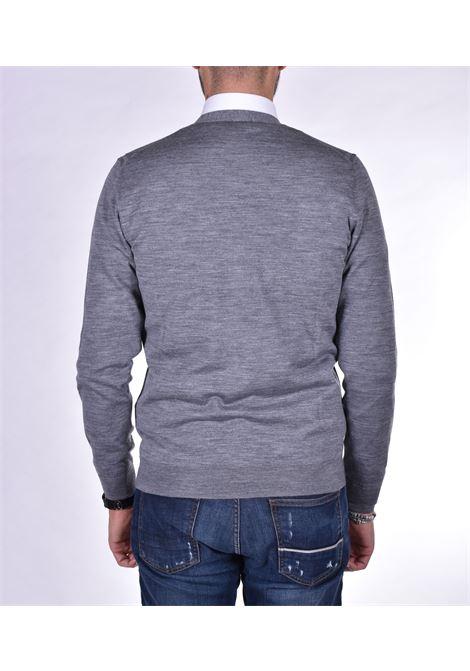 grey cardigan paolo pecora PAOLO PECORA | Sweaters | A004F0018963