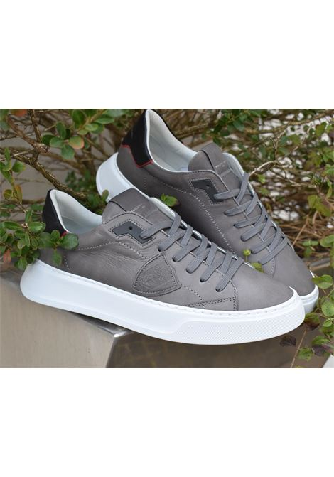 Philippe model Temple gray sneakers PHILIPPE MODEL | Shoes | BTLUV003