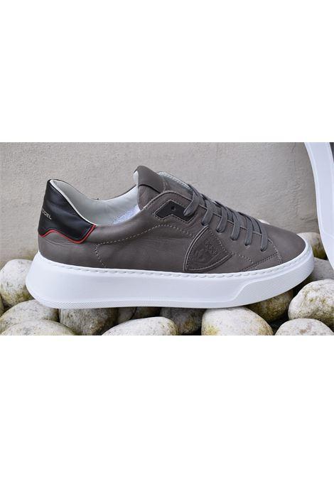 Sneakers Philippe model Temple grigio PHILIPPE MODEL | Scarpe | BTLUV003
