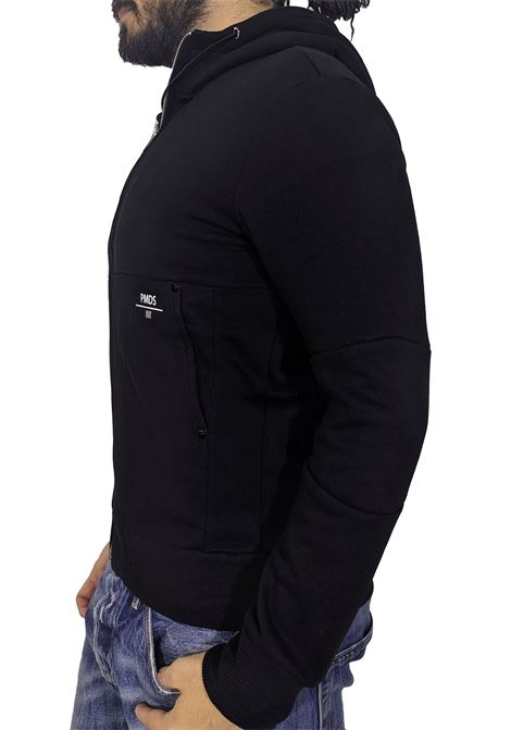 PMDS black invisible fleece Premium Mood Denim Superior | Sweatshirts | 5251