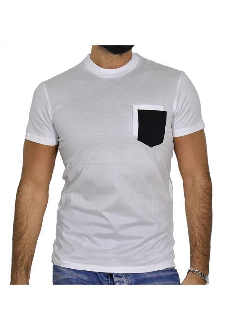 T-shirt PMDS bianca Akita Premium Mood Denim Superior | T-shirt | AKITA1