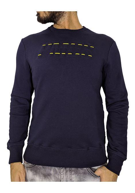 PMDS hijiri blue sweatshirt with logo Premium Mood Denim Superior | Sweatshirts | HIJIRI1