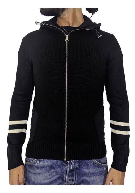 Felpa maglia PMDS nera Soji Premium Mood Denim Superior | Felpe | SOJI99
