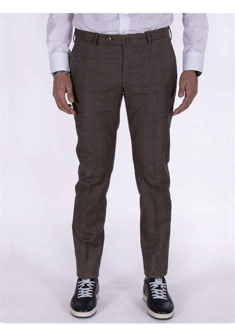 Pt Torino superslim fit squares trousers PT TORINO | Trousers | BB320060
