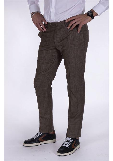 Pantalone Pt Torino superslim fit quadri PT TORINO | Pantaloni | BB320060