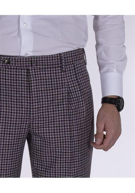 Pantalone Pt Torino quadretti preppy fit PT TORINO | Pantaloni | MA910610