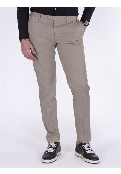 PT Torino skinny beige trousers PT TORINO | Trousers | NU300060