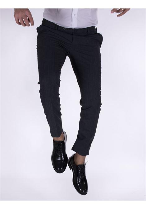 PT Torino skinny travel gray trousers PT TORINO   Trousers   P0360240