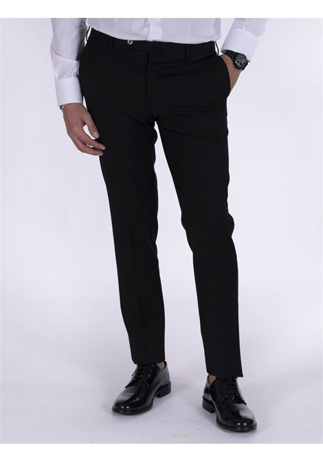 PT Torino skinny travel black trousers PT TORINO | Trousers | P0360990