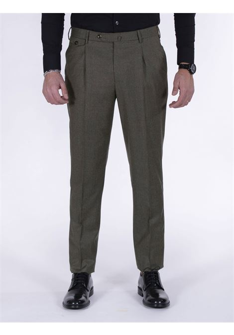 Brown Pt Torino gentleman fit trousers PT TORINO | Trousers | CM140120