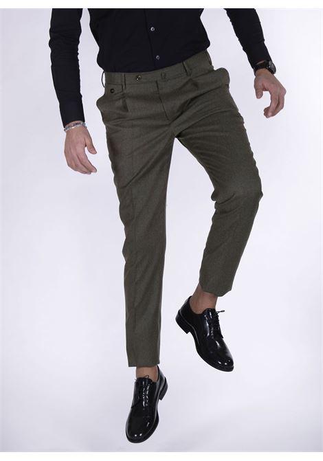 Pantalone Pt Torino gentleman fit marrone PT TORINO | Pantaloni | CM140120