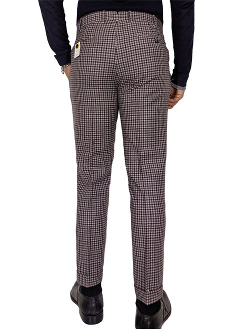 Pt Torino preppy fit checkered trousers PT TORINO | Trousers | MA910610
