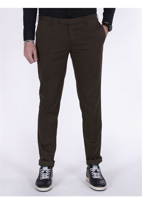 PT Torino skinny fit brown trousers PT TORINO | Trousers | NU300191