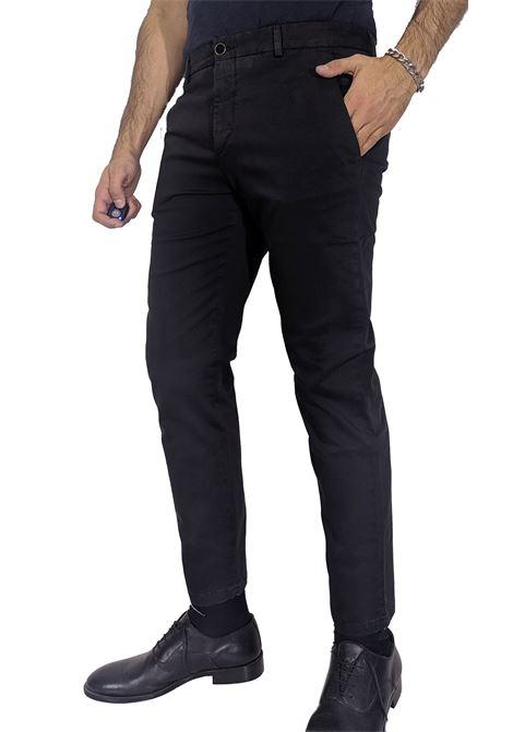 Pt Torino jungle black trousers PT TORINO   Trousers   NK050990