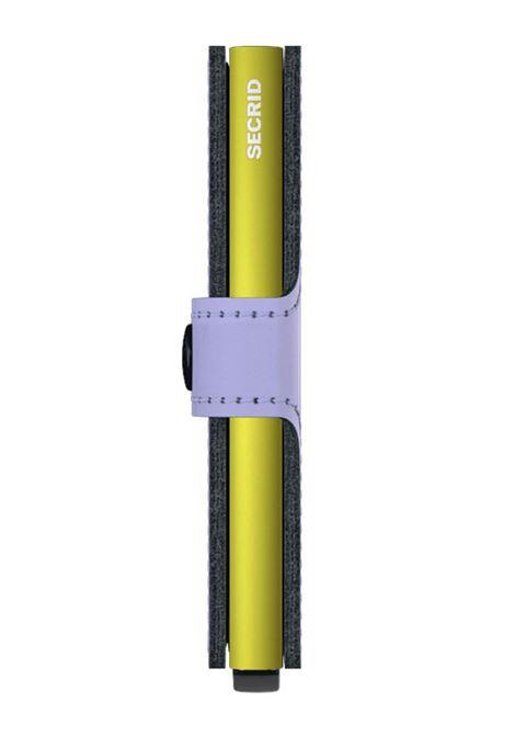 Secrid Miniwallet matte lilla giallo SECRID | MATTE25