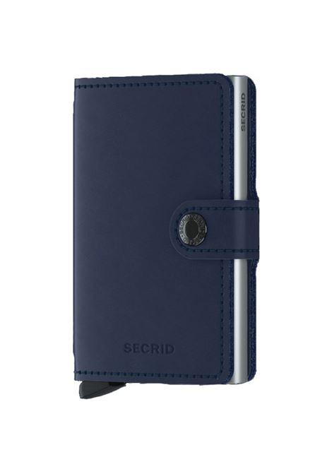 Secrid Miniwallet Original wallet blue SECRID | ORIGINAL2