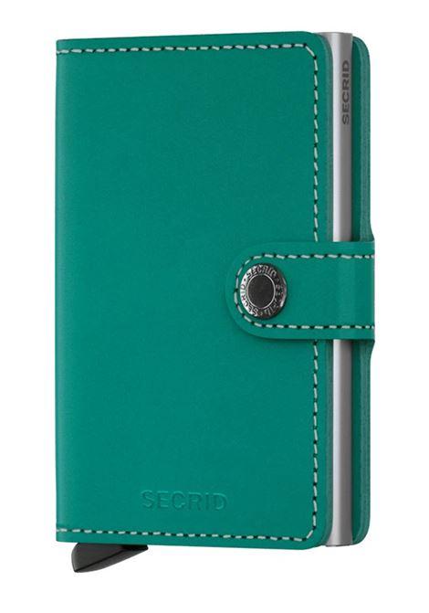 Portafoglio Secrid Miniwallet Original Emerald SECRID | Portafogli | ORIGINAL25