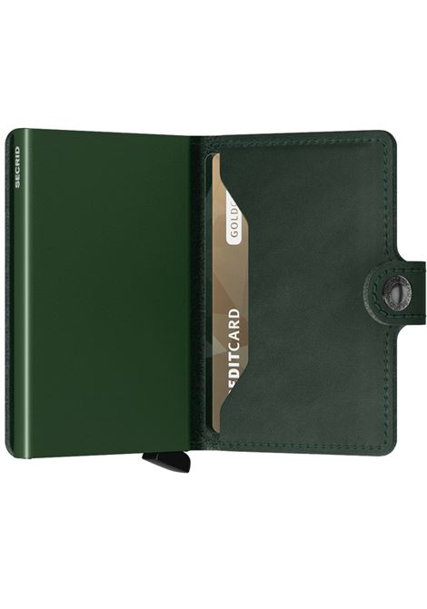 Portafoglio Secrid Miniwallet Original verde SECRID | ORIGINAL3
