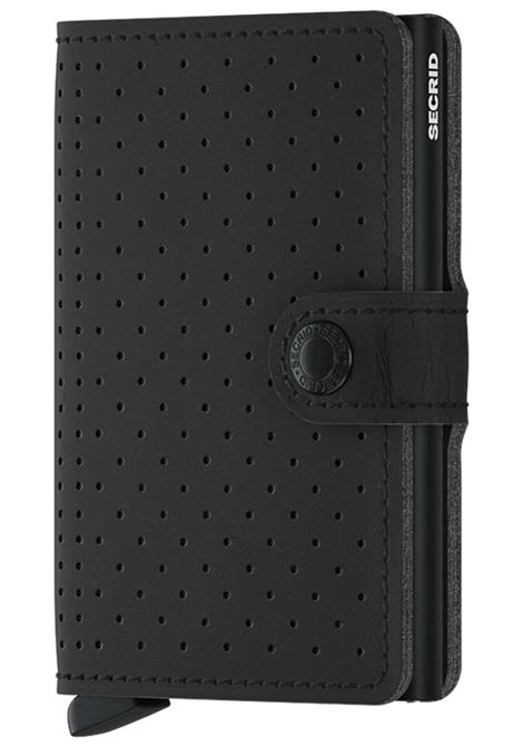Secrid miniwallet perforated black SECRID | Portafogli | PERFORATED1