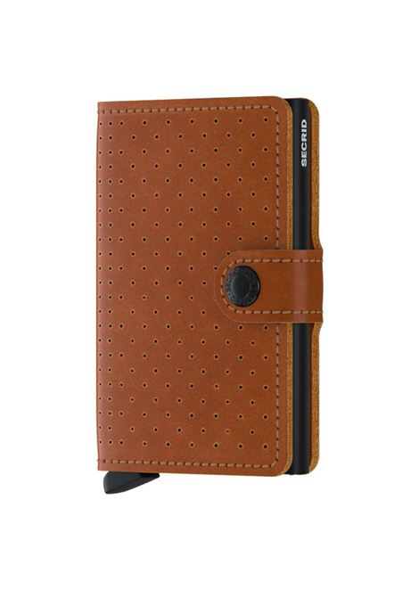 Secrid miniwallet perforated cognac SECRID | Portafogli | PERFORATED2