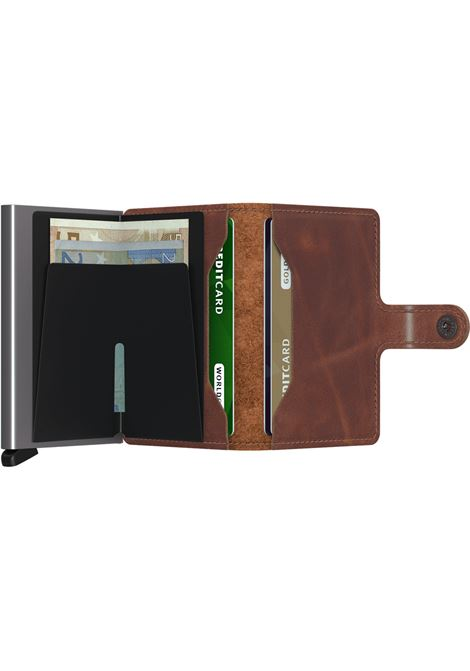 Secrid Miniwallet vintage brown SECRID | Portafogli | VINTAGE1