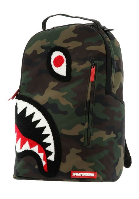Torpedo shark camouflage backpack SPRAYGROUND | Bags | B15981