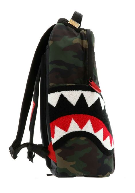 Sprayground Torpedo shark camouflage backpack SPRAYGROUND | Bags | B15981