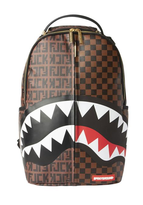 Zaino Sprayground split the check shark SPRAYGROUND | Borse | B32491