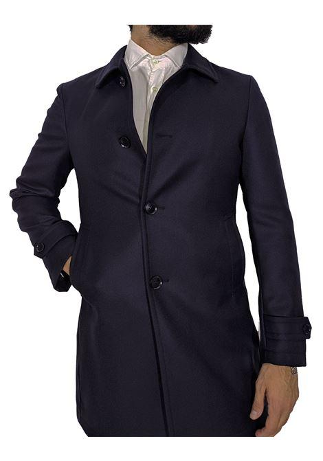 Cappotto tagliatore Flash collo camicia blu TAGLIATORE | Cappotti | 15UIC182B1641