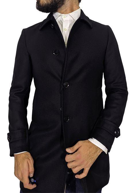Cappotto tagliatore Flash collo camicia nero TAGLIATORE | Cappotti | 15UIC182N1642