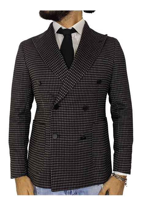 Tagliatore exclusive double-breasted garment checked blazer TAGLIATORE | Blazers | 34FIG295EN872