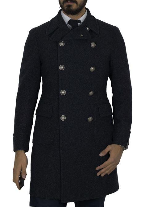 Cappotto Tagliatore Carlo/z doppiopetto grigio TAGLIATORE | Cappotti | 52UIC052S604