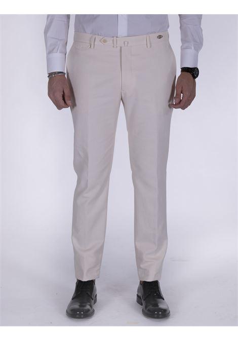 Pantalone Tagliatore bianco slim TAGLIATORE | Pantaloni | 79UIZ189X3342