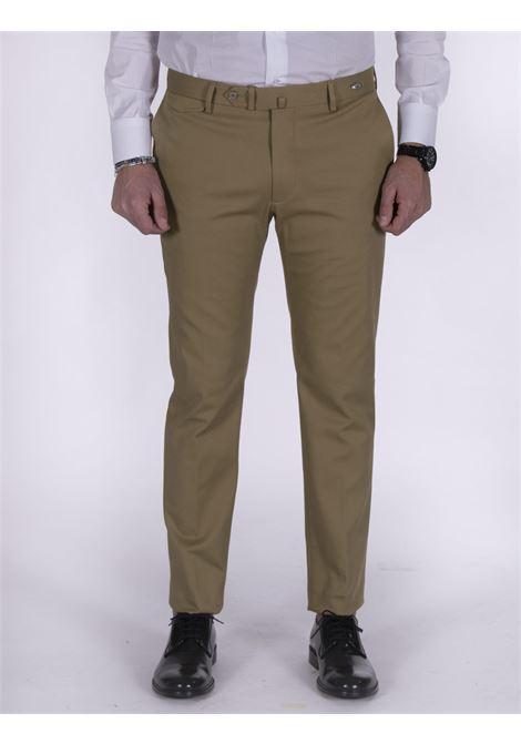 Slim beige Tagliatore trousers TAGLIATORE | Trousers | 79UIZ191A1429