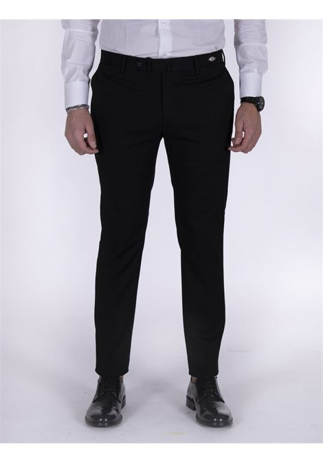 Slim black Tagliatore trousers TAGLIATORE | Trousers | 79UIZ191N1351