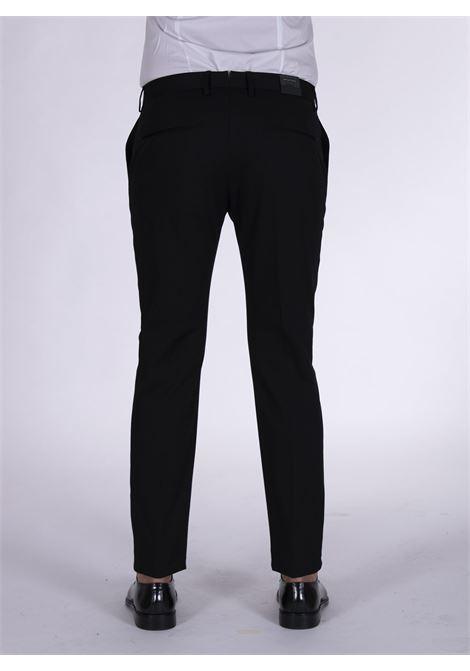 Slim black Tagliatore trousers TAGLIATORE | Trousers | 79UIZ191N1351