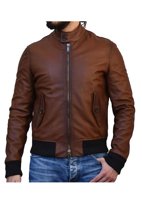 Ethan Tagliatore Leather Jacket TAGLIATORE | Jackets | ETHAN09