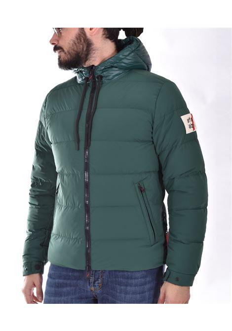 After Label green down jacket AFTER LABEL | AL150N7864870