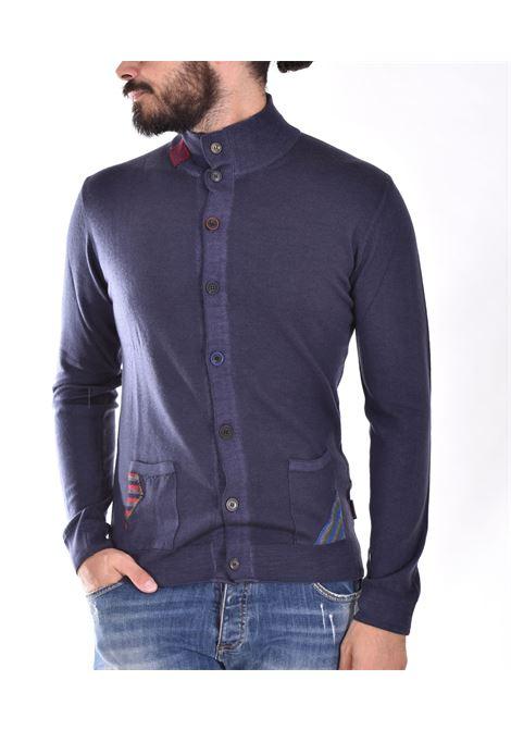 BoB sweater with blue bogota buttons BOB | BOGOTA01