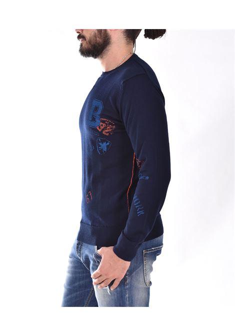BoB blue giles sweater BOB | GILES2201