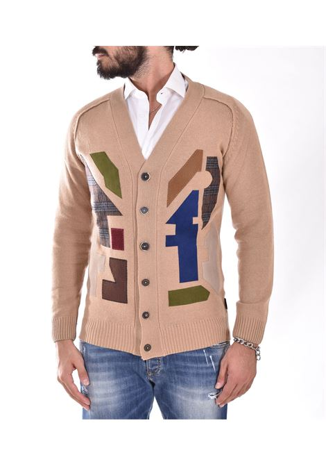 BoB beige cardigan with konnor embroidery BOB | KONNOR01
