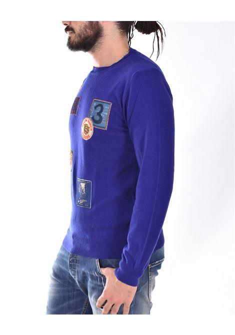 BoB blue shirt with sean patches BOB | SEAN03
