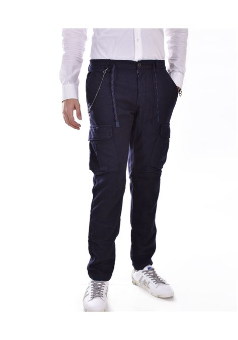 BoB wok blue wool trousers 544 BOB | WOK5401