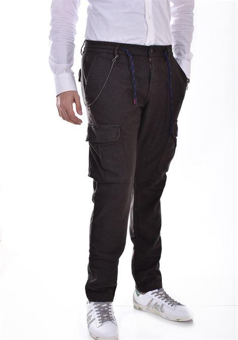 BoB green wool trousers wok544 BOB | WOK5402