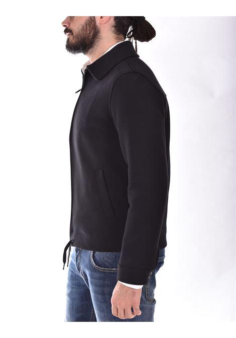 Circolo 1901 full zip black fleece jacket CIRCOLO 1901 | CN3149001
